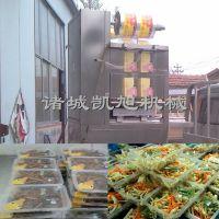 超市专供盒式净菜气调保鲜封口机器 凯旭薄膜封口机