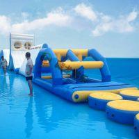 移动水上乐园 支架水池 水上滑梯组合 支架游泳池 户外移动泳池