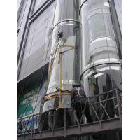 专业维修更换保养幕墙玻璃观光电梯玻璃