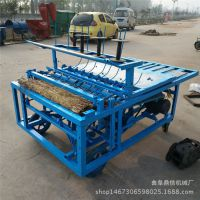 厂家推出新型致富机械 蔬菜种植业大棚草帘编织机 环保草编机