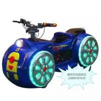 木羊人TZ-MTC游艺设备玩具车批发厂家 前后座骑乘式电瓶车太子摩托车
