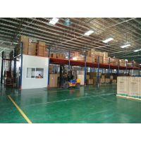 中山阁楼货架|电器组合架|工字钢隔层|中山阁楼货架