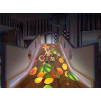 互动投影滑梯,可修改定制效果。提供互动游戏租赁,展厅游戏。