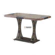 东莞工业风主题餐饮桌子厂家,简约复古风菜馆餐桌尺寸样式