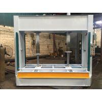 佛山钢木门压平机 50吨1.5米胶合机开距液压式冷压机(图)