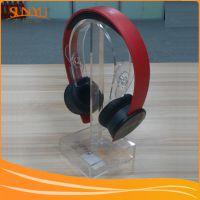 供应 深圳 透明 亚克力 耳机 展示架 亚加力 耳机 展示架 来图定制