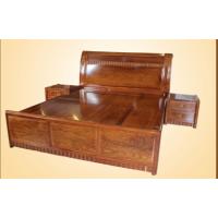 适合中小户型使用的红木双人床名琢世家刺猬紫檀新中式大床款式