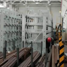 广东悬臂式货架设计 ZY041707 存放钢材的仓库图片 钢材放置架厂家