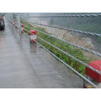 河道缆索护栏 临边防撞设施 缆索厂家价格