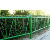 赤峰喷塑仿竹节栅栏制作精细,市政竹节篱笆围栏HCQ235,京式交通隔离栏外观精美