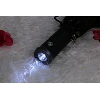 创意全自动雨伞自开自收转向LED灯光手电筒发光折叠伞定制广告伞