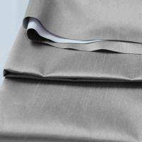 铠纶厂家 3pass 防火涂层涤纶缎面竹节工程遮光布
