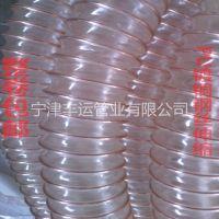 厂家直销:镀铜钢丝软管 PU伸缩管 钢丝伸缩软管 PU耐磨伸缩管