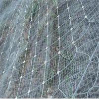 钢丝绳网锚杆@钢丝绳网支撑绳@安首边坡防护网生产厂家