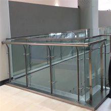 新云 定制款不锈钢楼梯扶手 工程商场中庭立柱样板间楼梯立柱