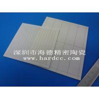 海德加工氧化铝绝缘装置陶瓷片 耐高温陶瓷片