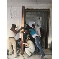 欧华尊邸安装团队赴尼日利亚安装铸铝门