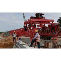 河南省新东方斯里兰卡项目工地180吨架桥机