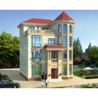 新余房子设计AT1780四层私人定制简欧复式楼漂亮别墅设计图纸10.8mX12.3m