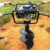 拖拉机悬挂式挖坑机 果林苗木施肥打洞机厂家直销 启航大直径螺旋地钻机