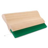 塑料件印刷专用75度平口30*7丝印木柄刮刀刮胶-嘉美