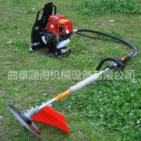 园林割草机 背负式汽油割灌机 小型稻麦收割机