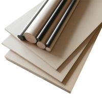 茶色PEI板材棒材琥珀色PES板材和棒材规格工厂定制