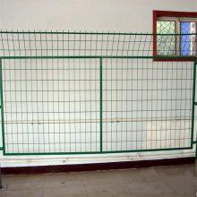 浸塑铁丝隔离网 边框护栏网 铁丝防护网