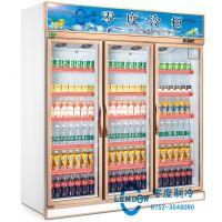 惠州零度冷柜 饮料展示柜冷藏柜保鲜柜风幕柜低温牛奶柜水果蔬菜冷柜