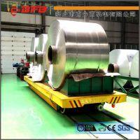 工业运输箱体设备电动轨道搬运车 无极调速牵引平板拖车 热卖中