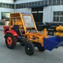 轮式多用途0.4T工程小铲车 ZL-06型牧场夹木机 矿用小型装载机