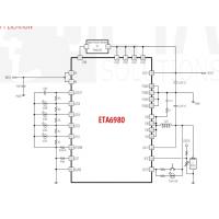 ETA6980/ETA6982,3A充电电流,全程实打实2.4A的升压放电输出能力