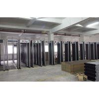 防雨型安检门生产厂家 超强130B金属探测安检门 机场金属检测 户外
