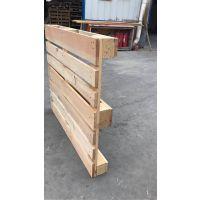 青岛叉车木架 仓储工厂实用型现货新旧松木木托