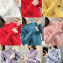 大朗便宜毛衣批发厂家几元女士针织衫套头毛衣便宜清货库存杂款毛衣