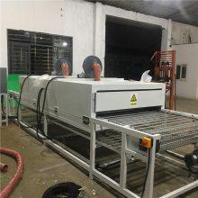 隧道式烘干炉 佛山通过式烤炉厂家 均匀热风 恒温功率小 佳和达清洗设备