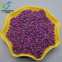 新房装修甲醛分解吸附催化剂8%高锰酸钾活性氧化铝球紫色球状