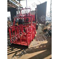 2018新款 0.8米--1.5米 8吨--50吨吊车专用 吊车小型吊篮 自动调平吊车专用吊篮