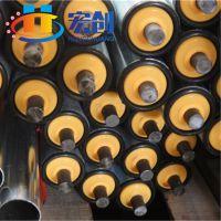 厂家直销滚筒|镀锌直径38mm尼龙座无动力|广州无动力滚筒|冲压滚筒