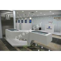 建行-智慧银行体验区智能互动桌 银行系统家具