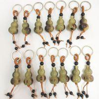 地摊热卖裕旺牛角葫芦钥匙扣挂件 男女通用12生肖钥匙扣礼品赠送