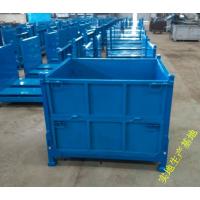东莞帝腾定制金属物流周转箱/钢制料箱/重型周转笼废料箱
