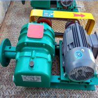 污水处理专用 罗茨风机 三叶罗茨鼓风机 水产养殖供氧设备