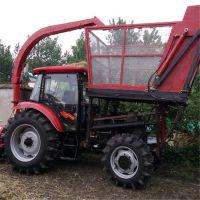 甘肃 自制研发新款全株玉米收割机 高杆牧草收割机