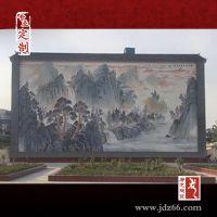 公司企业文化装饰瓷板画,拼接瓷板画定做