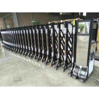 顺德不锈钢伸缩门安装、铝合金伸缩门订制、佛山电动伸缩门厂