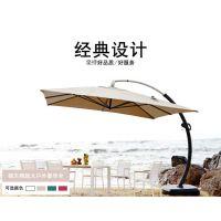 出售高档哥伦布大弯伞歪伞沙滩伞 户外遮阳伞 休闲区太阳伞 尺寸:3M/3.5M