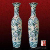 景德镇陶瓷大花瓶批发,落地花瓶图案