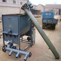 直销 移动式煤粉螺旋输送机 粮食谷物螺旋提升机 振德