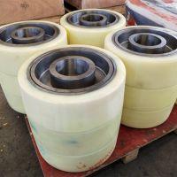 聚氨酯包胶轮定制加工包胶滚轮定向脚轮